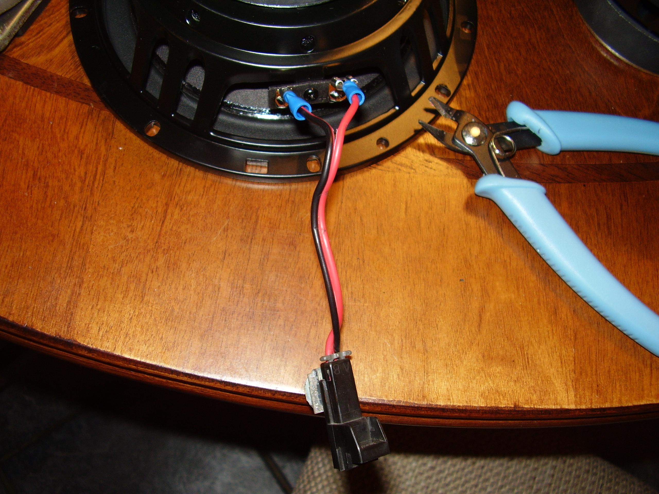 help trans am monsoon speaker wire harness connector